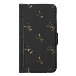 The golden sigil of Lucifer Samsung Galaxy S5 Wallet Case