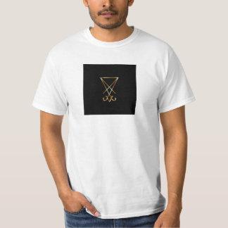 The golden sigil of Lucifer T-Shirt