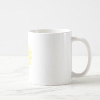 The Golden Stag of Eurasia (Gold) Coffee Mug