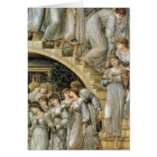 The Golden Stairs Greeting Card