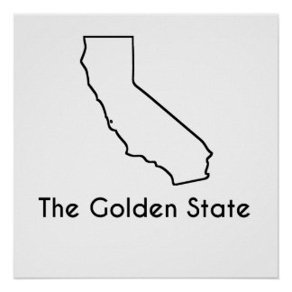 The Golden State Poster