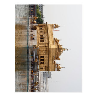 The Golden Temple in Amritsar Postcard