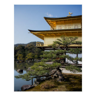 The Golden Temple in Kyoto Japan Print