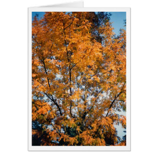 The Golden Tree Stationery Note Card