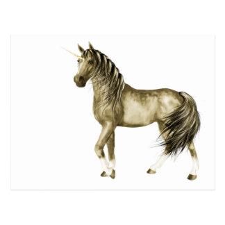 the Golden Unicorn Postcard