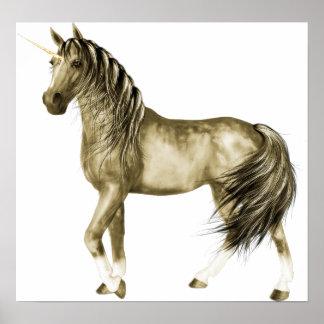 the Golden Unicorn Print