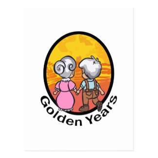 THE GOLDEN YEARS POSTCARD