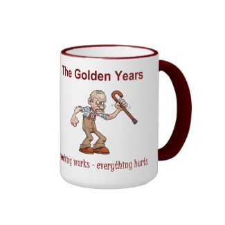 The Golden Years Ringer Coffee Mug