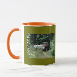 The Goldeneagle - 1964 Dodge 330 Limited Edition Two-Tone Coffee Mug