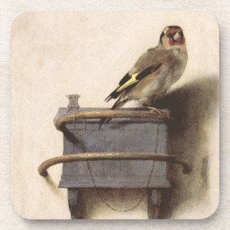 The Goldfinch Beverage Coaster