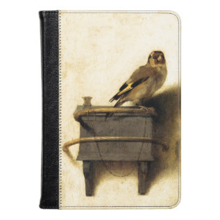 The Goldfinch By Carel Fabritius Fine Art Kindle Case at Zazzle