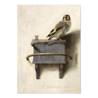 The Goldfinch by Carel Fabritius Magnetic Card