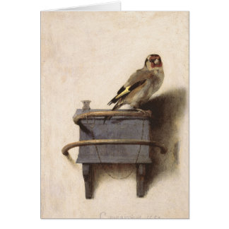The Goldfinch Card
