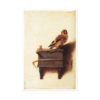 The Goldfinch Carel Fabritius reproduction Canvas Print