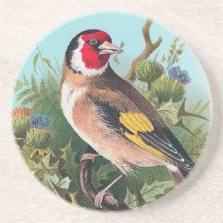 The Goldfinch Drink Coaster