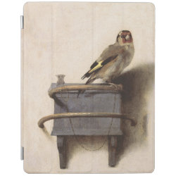 iPad 2/3/4 Cover with The Goldfinch by Carel Fabritius design