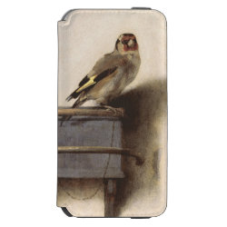 Incipio Watson™ iPhone 6 Wallet Case with The Goldfinch by Carel Fabritius design