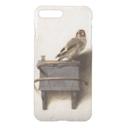 Uncommon iPhone 7 Plus Clearly™ Deflector Case with The Goldfinch by Carel Fabritius design