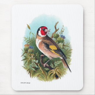 The Goldfinch Mouse Pad
