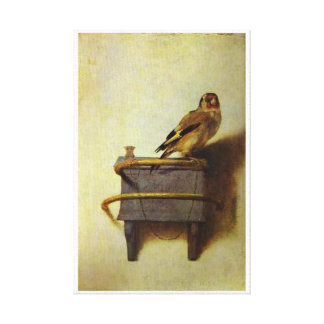 The Goldfinch painting reproduction Canvas Print