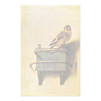 The Goldfinch., Puttertje  By Carel Fabritius Stationery Paper
