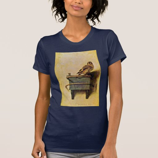 The Goldfinch., Puttertje  By Carel Fabritius Tee Shirts