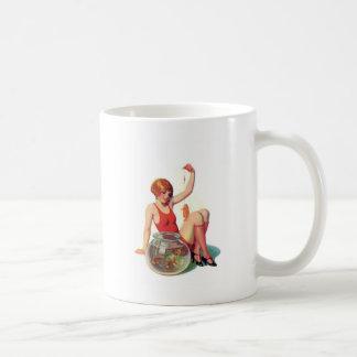 The Goldfish Classic Illustration Coffee Mug