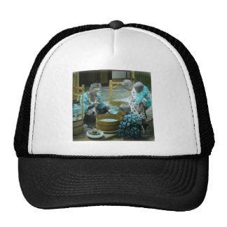 The Goldfish Merchant of Old Japan Vintage Trucker Hat