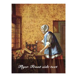"""The Goldwägerin By Hooch Pieter De (Best Quality) 8.5"""" X 11"""" Flyer"""