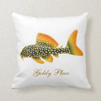 The Goldy Pleco Fish Pillow