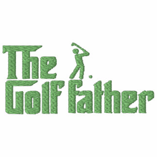 The Golf Father Embroidered Polo Shirt