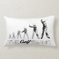 The Golf Swing Theory,  Throw Pillow Lumbar 13x21