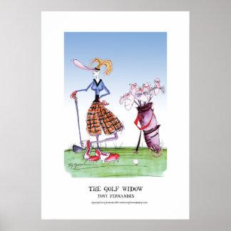 the golf widow, tony fernandes poster