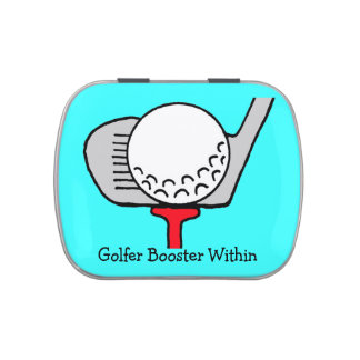 The Golfer Booster Candy Tin