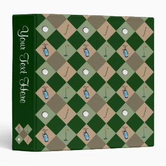 The Golfer Pattern Binder