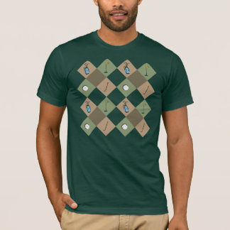The Golfer Pattern T-Shirt