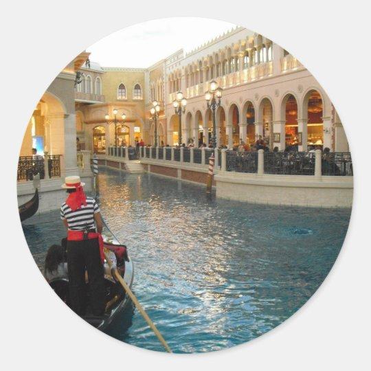 The Gondola Ride Sticker