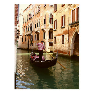 The Gondolier Postcard