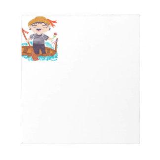 The Gondolieri Notepad