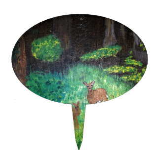 The Gone Forest.  Artist (e) /Artiest:  J S Cake Topper