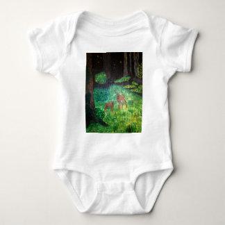 The Gone Forest.  Artist:  J S Shipman Baby Bodysuit