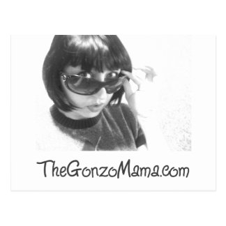 The Gonzo Mama Postcard