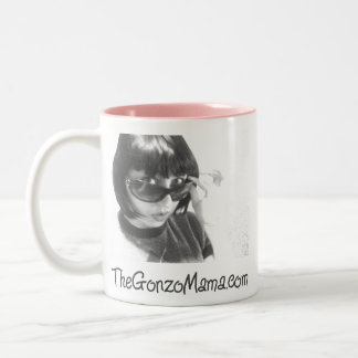 The Gonzo Mama's Signature Pink-Lined Mug