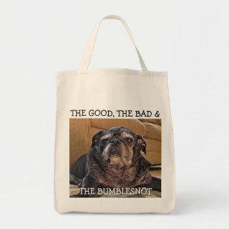 The Good, Bad & Bumblesnot tote bag
