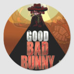 The Good Bad Bunny Classic Round Sticker