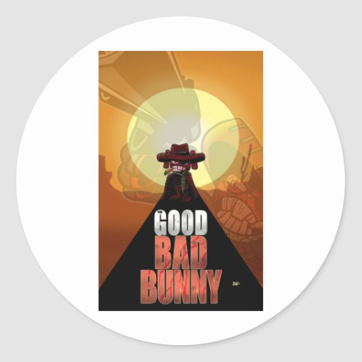 The Good Bad Bunny Stickers