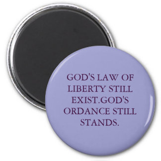 THE GOOD BOOK... 2 INCH ROUND MAGNET