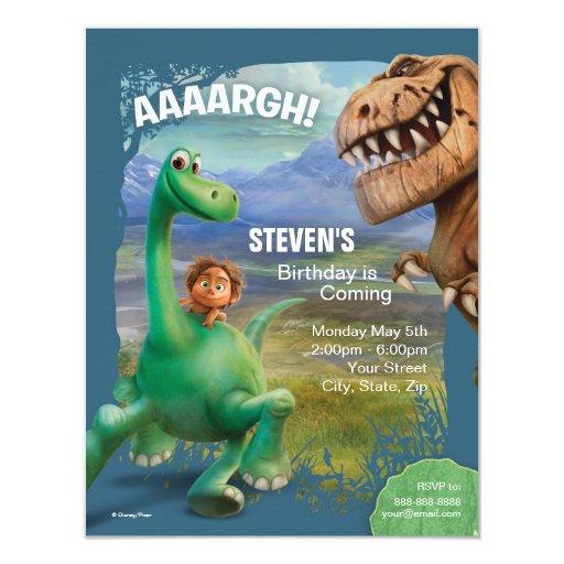 The Good Dinosaur Birthday Card | Zazzle