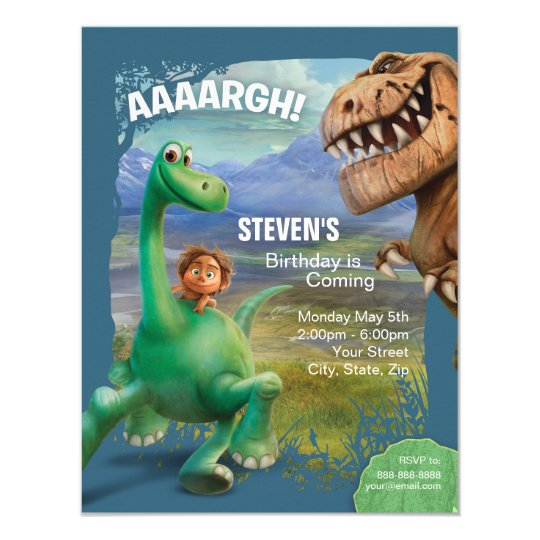 dinosaur party invitations & announcements | zazzle, Birthday invitations