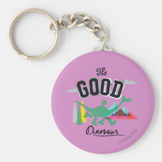 The Good Dinosaur Spot And Arlo Keychain